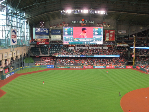 Minute Maid Park - Home of the Houston Astros