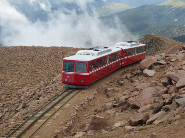 Pikes Peak train