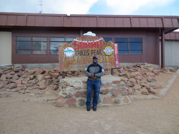Top of Pikes Peak