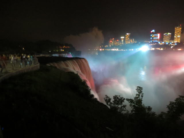 Niagara Falls at Night 005