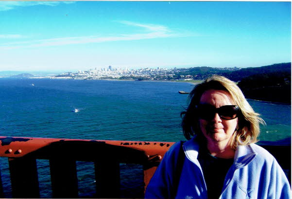 San Francisco Golden Gate Bridge Deb