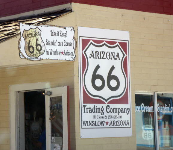 Winslow AZ Route 66 - Standin on the Corner